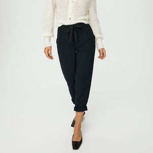 Wilfred Crepe Cropped Pants